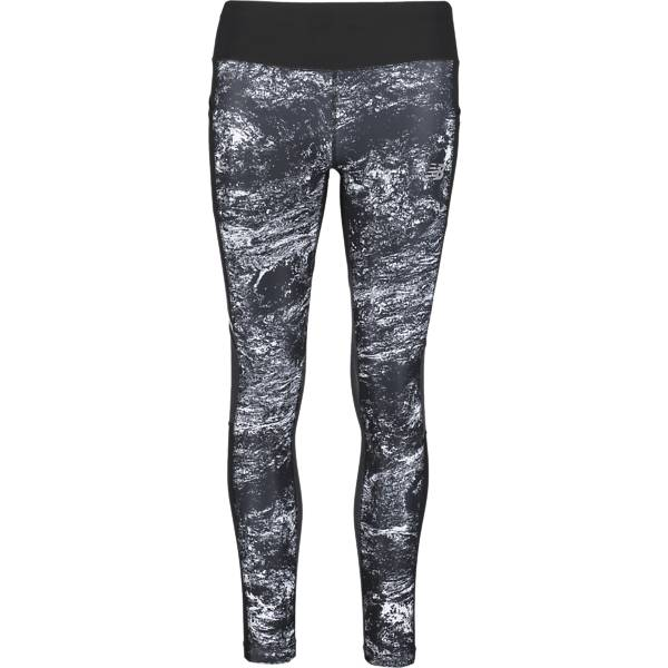 New Balance W Printed Tight Juoksuvaatteet BLACK MULTI (Sizes: XS)