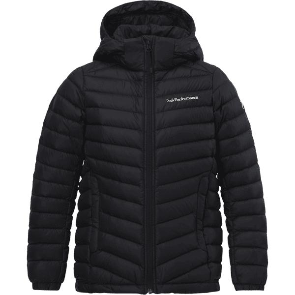 Peak Performance J Frost Down Hood Jacket Untuvatakit BLACK (Sizes: 140)