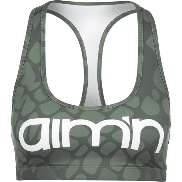 Aim´n W Anaconda Logo Bra Treenivaatteet GREEN (Sizes: S)