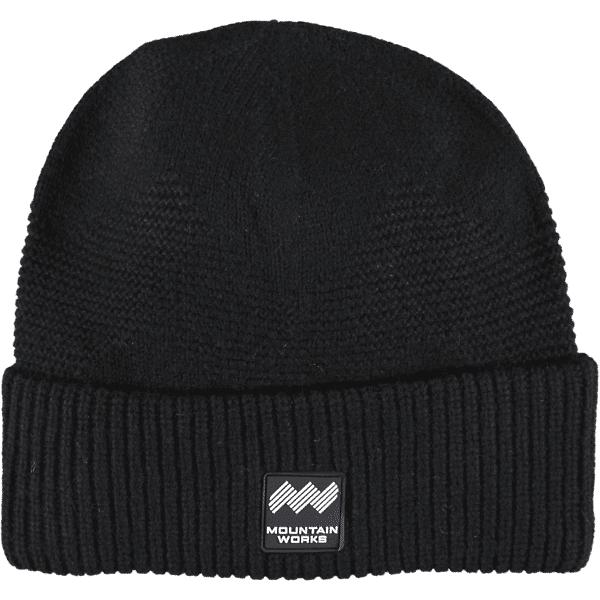 Mountain Works Mw Wool Beanie Retkeilyvaatteet BLACK (Sizes: One size)