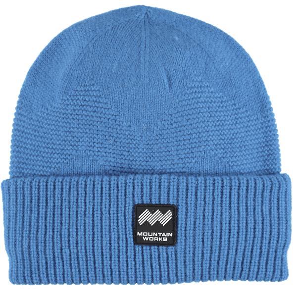 Mountain Works Mw Wool Beanie Retkeilyvaatteet BLUE (Sizes: One size)