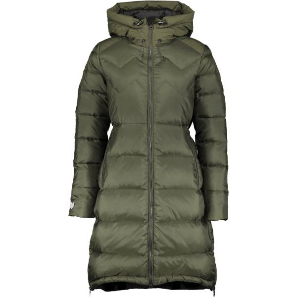 Mountain Works W Cocoon Down Coat Untuvatakit MILITARY (Sizes: L)