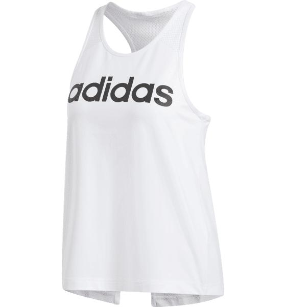 Image of Adidas W D2m Logo Tank Treenivaatteet WHITE (Sizes: XS)