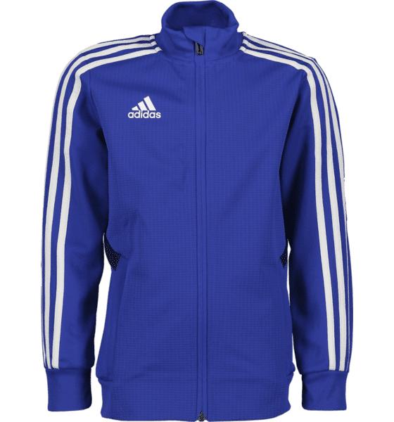 Image of Adidas Tiro 19 Trg Jkt Y Treenivaatteet BLUE/WHITE (Sizes: 116)