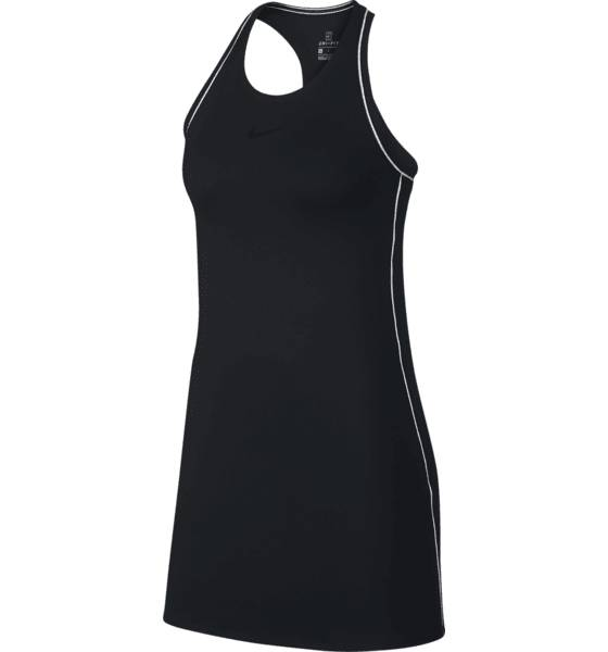 Image of Nike W Nktc Dry Dress Tennisvaatteet BLACK/WHITE/WHITE/ (Sizes: XS)