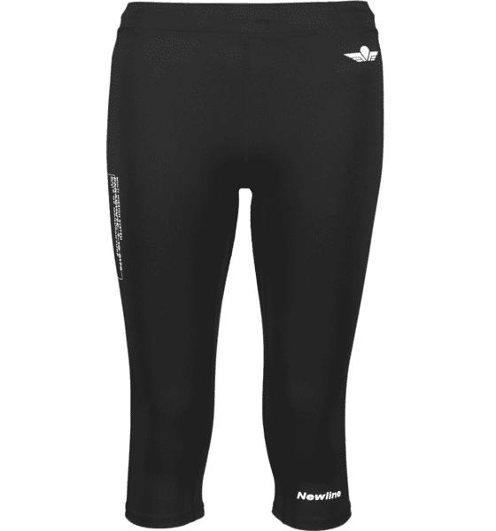 Newline W Black Knee Tights Juoksuvaatteet BLACK (Sizes: S)