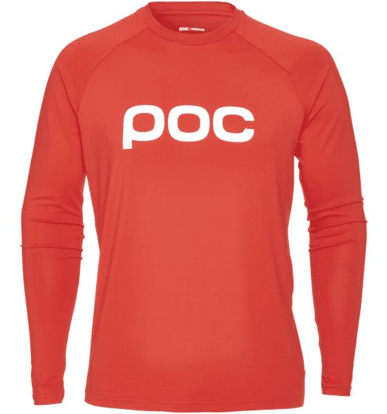 Image of Poc M Ess Enduro Jsy Pyöräilyvaatteet PRISMANE RED (Sizes: S)