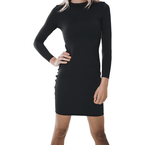 Image of Aim´n W Streak Dress Hameet & mekot BLACK (Sizes: XS)