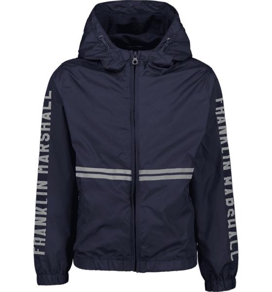 Marshall Franklin & Marshall J 80s Wind Jacket Kevättakit NAVY BLAZER (Sizes: 10-11 Y)