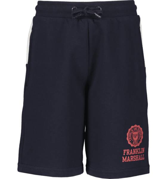 Marshall Franklin & Marshall J Colour Block Sweat Shorts Vapaa-ajan shortsit NAVY BLAZER (Sizes: 12-13 Y)