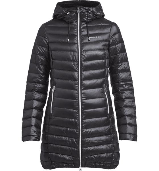 Röhnisch W Light Down Long Jacket Untuvatakit BLACK (Sizes: S)