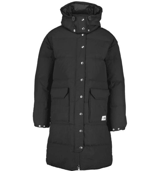 The North Face W Down Sierra Long Jacket Untuvatakit TNF BLACK (Sizes: S)
