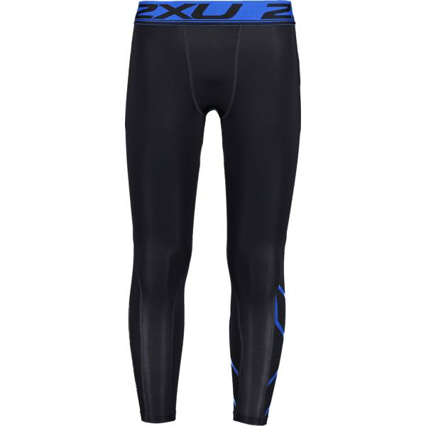 Image of 2xu M Accelerate Compression Tights Treenivaatteet BLACK/LAPIS BLUE (Sizes: XS)