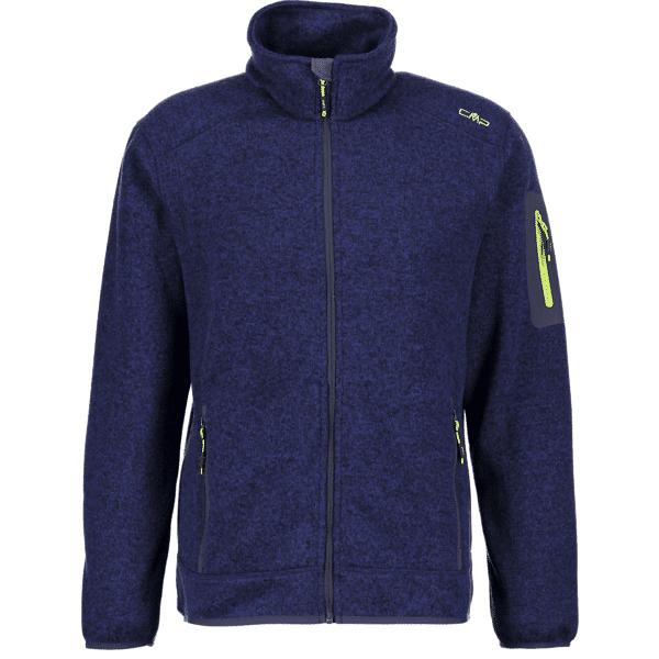 Cmp M Knitted Jkt Retkeilyvaatteet B. BLUE (Sizes: 54)