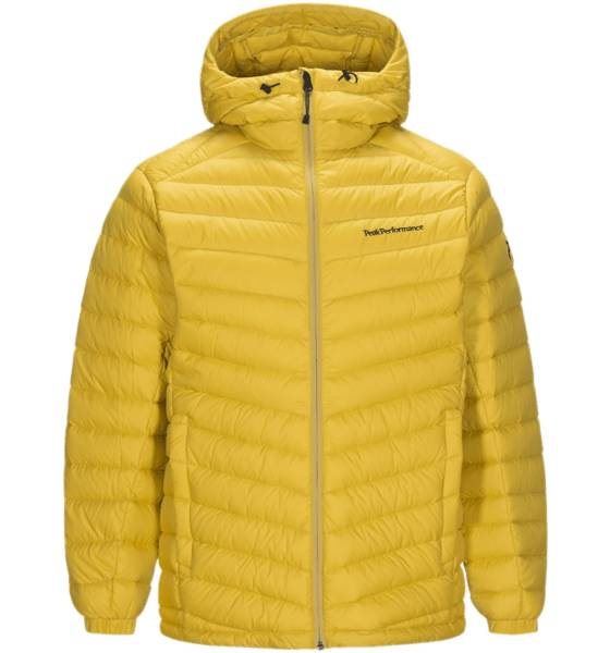 Peak Performance M Frost Down Hood Untuvatakit YELLOW FLOW (Sizes: L)