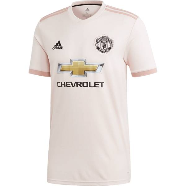 Image of Adidas M Mufc Away Jersey Jalkapallovaatteet ICEY PINK (Sizes: L)