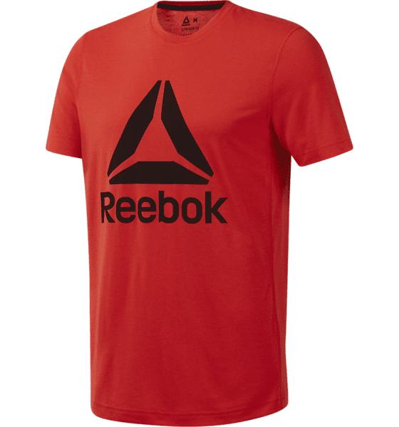 Image of Reebok M Wor Sup 2.0 Tee Gra Treenivaatteet CANTON RED (Sizes: S)