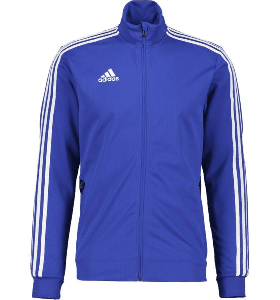 Image of Adidas Tiro 19 Trg Jkt Treenivaatteet BLUE/WHITE (Sizes: M)