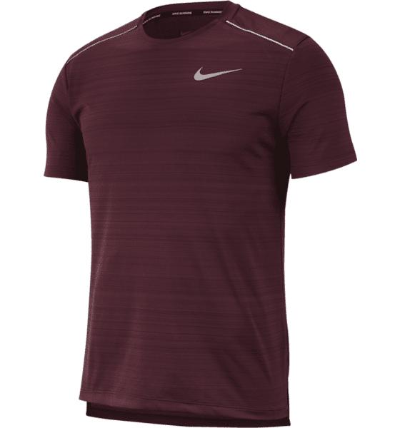 Nike M Dry Miller Top S Juoksuvaatteet NIGHT MAROON/REFLE (Sizes: S)