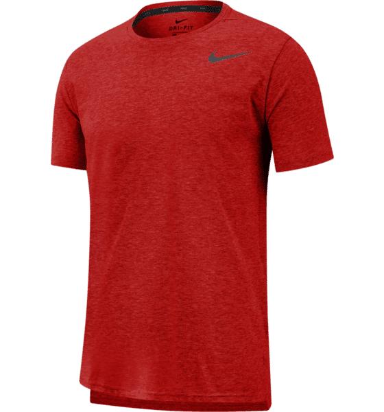 Image of Nike M Nk Brt Top Ss Hpr Dry Treenivaatteet UNIVERSITY RED/HTR (Sizes: S)
