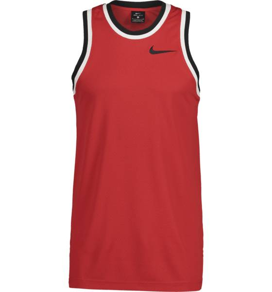 Image of Nike M Nk Dry Classic Jersey Koripallovaatteet UNIVERSITY RED/BLA (Sizes: S)