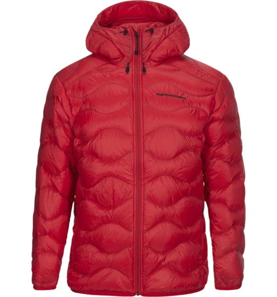 Image of Peak Performance M Helium Hood Jacket Untuvatakit CHINEZE RED (Sizes: S)