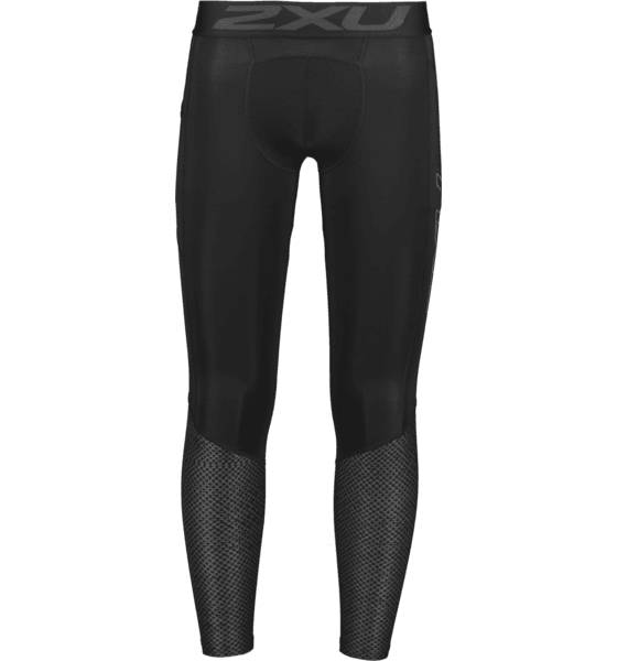 Image of 2xu M Accelerate Compression Tights With Storage Juoksuvaatteet BLACK/TEXTURED MES (Sizes: L)