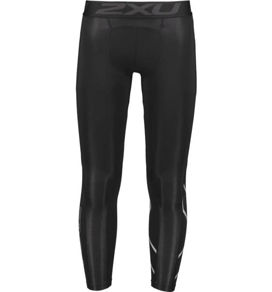 Image of 2xu M Accelerate Compression Tights - G2 Juoksuvaatteet BLACK/SILVER (Sizes: L)