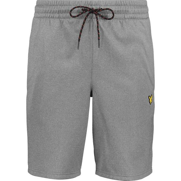 Scott Lyle & Scott M Randall Fleece Shorts Vapaa-ajan shortsit MID GREY MARL (Sizes: XXL)