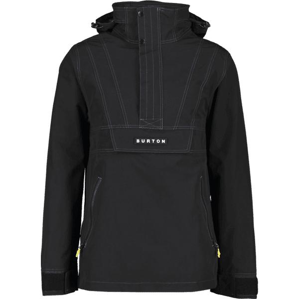 Burton M Retro Anorak Jkt Lumilautailuvaatteet TRUE BLACK (Sizes: XL)