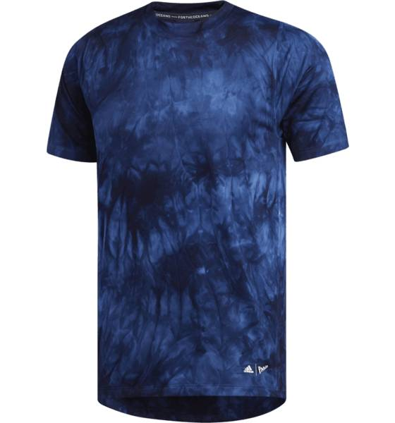 Image of Adidas M Parley 3s Tee Treenivaatteet LEGEND INK/NONDYE (Sizes: XL)