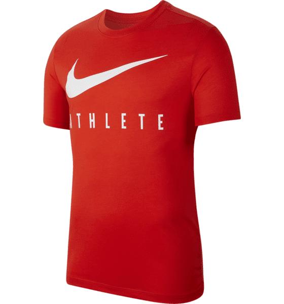 Image of Nike M Nk Dry Tee Db Athlete Treenivaatteet HABANERO RED/PALE (Sizes: S)