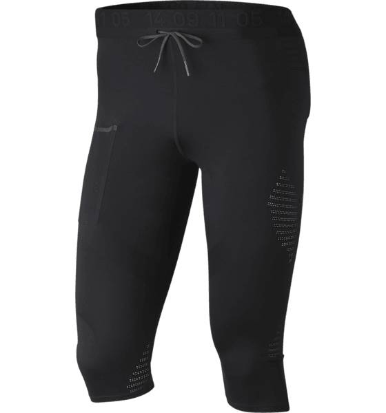 Image of Nike M Nk Tch Pck 3/4 Tight Juoksuvaatteet BLACK/ANTHRACITE/R (Sizes: L)