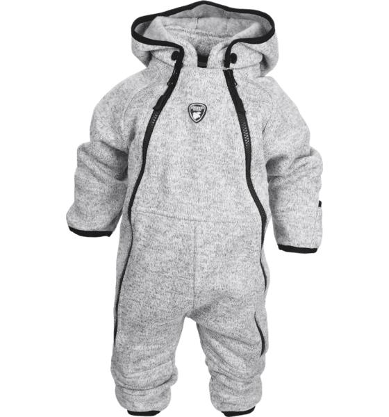 Lindberg K Bormio Baby Overall Lasketteluvaatteet GREY MELANGE (Sizes: 86)