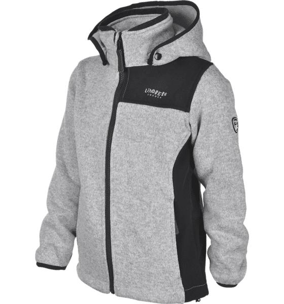 Lindberg K Bormio Jacket Lasketteluvaatteet GREY MELANGE (Sizes: 110)