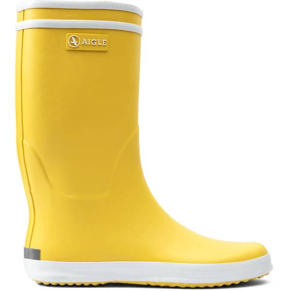 Aigle J Lollypop Rubberboot Kumisaappaat JAUNE/BLANC (Sizes: 24)
