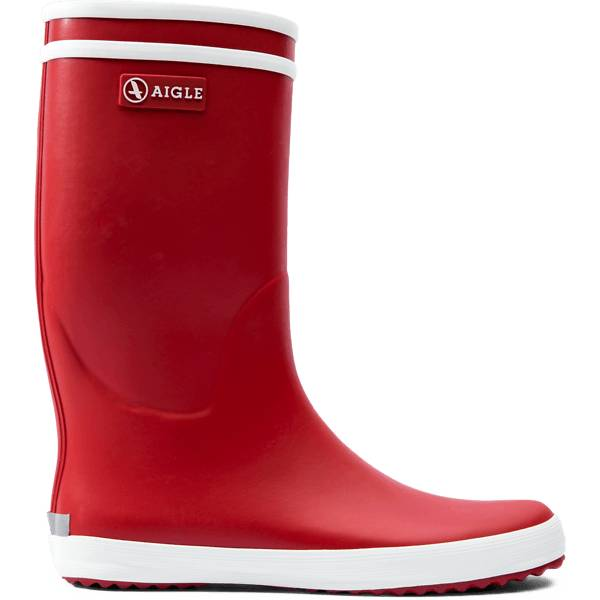 Aigle J Lollypop Rubberboot Kumisaappaat ROUGE/BLANC (Sizes: 24)