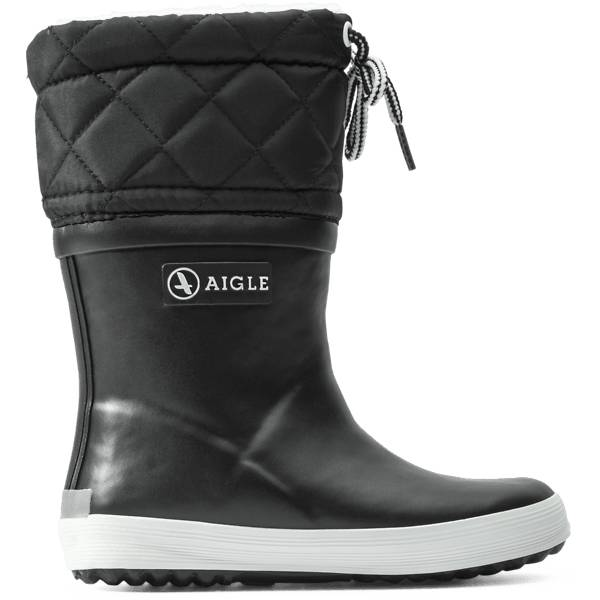 Aigle K Gibolee Kumisaappaat NOIR/BLANC (Sizes: 27)