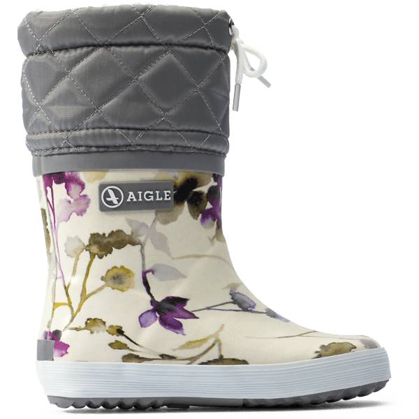 Aigle K Giboulee Print Kumisaappaat WILDFLOWER (Sizes: 26)