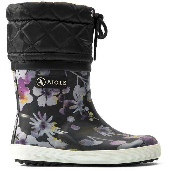 Aigle K Giboulee High Pr Kumisaappaat DARKFLOWER (Sizes: 26)