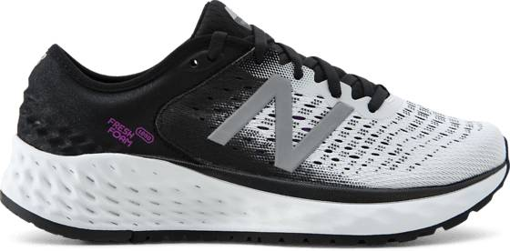New Balance W Freshfoam 1080 Juoksukengät WHITE/BLACK (Sizes: US 6)