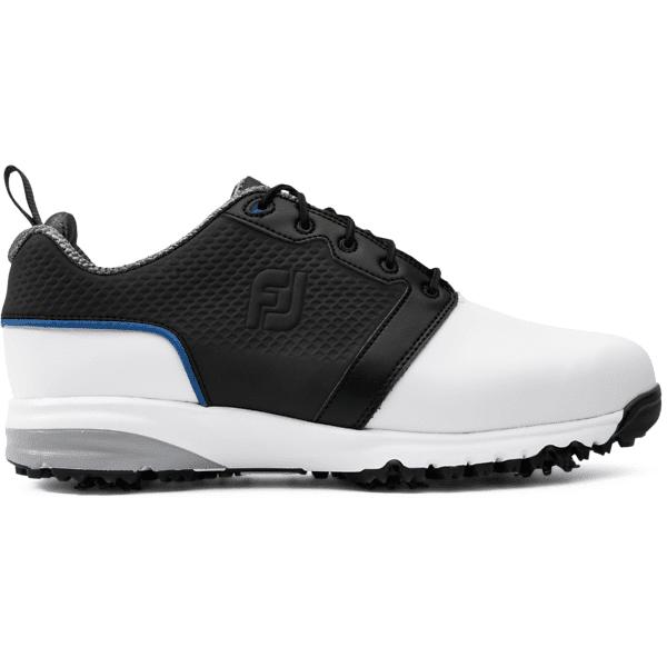 Footjoy M Contour Fit Golfkengät WHITE/BLACK (Sizes: US 11.5)