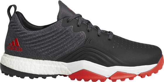 Image of Adidas M Adipower 4orged S Golfkengät CORE BLACK/RED/WHI (Sizes: UK 7.5)