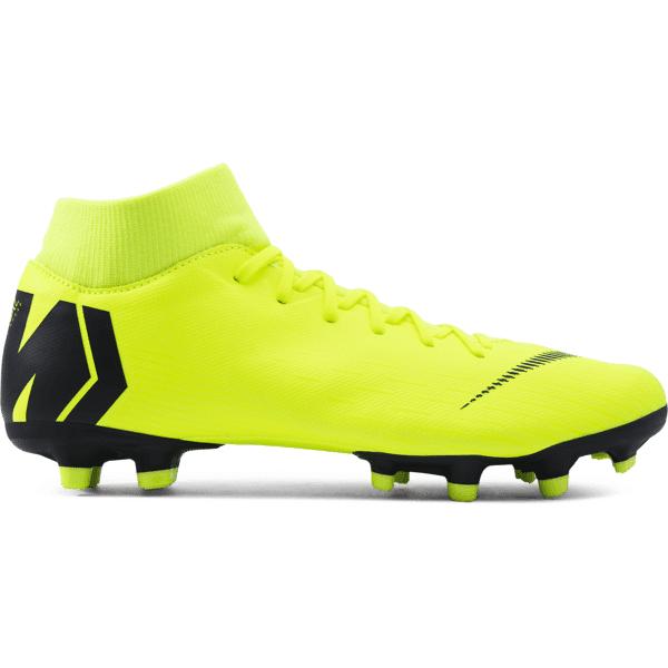 Nike Mercurial Superfly 6 Academy Mg Jalkapallokengät VOLT/BLACK (Sizes: US 5)