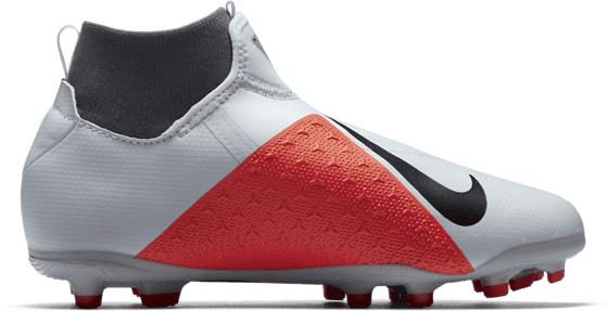 Nike Phant Vsn Acd Df Mg J Jalkapallokengät PURE PLATINUM/BLAC (Sizes: US 3)