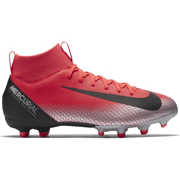 Nike M Sfly Cr7 Acd Mg J Jalkapallokengät BRIGHT CRIMSON/BLA (Sizes: US 5.5)