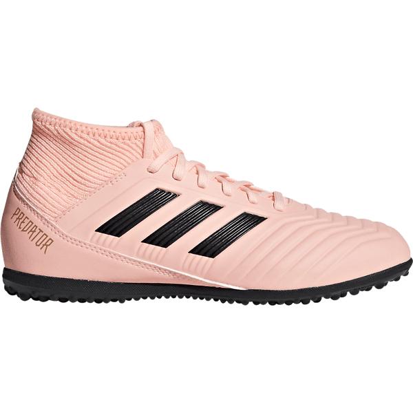 Adidas Predator Tango 18.3 Tf J Jalkapallokengät CLEORA/CBLACK/TRAP (Sizes: UK 5.5)