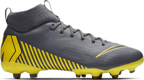 Nike Jr Mercurial Superfly 6 Academy Gs Mg Jalkapallokengät DARK GREY/BLACK-DA (Sizes: US 1.5)
