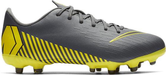 Nike Jr Vapor 12 Academy Gs Mg Jalkapallokengät DARK GREY/BLACK-DA (Sizes: US 2.5)