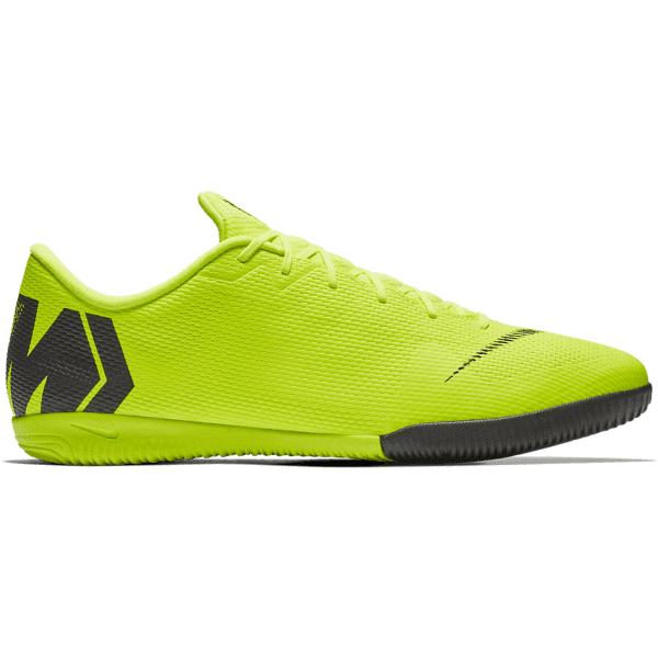 Nike Mercurial Vaporx 12 Academy Ic Jalkapallokengät VOLT/BLACK (Sizes: US 9)